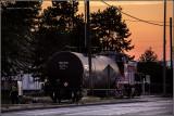 TR 1521 spotting a tank car along Port Of Tacoma Rd