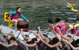 Dragon Boat Racing, Aberdeen Harbour, Hong Kong
