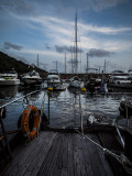 Evening in the Typhoon Shelter