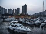 Yachts, Aberdeen Typhoon Shelter, Hong Kong