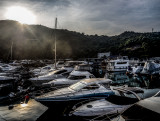 Monday Morning, my office for the day in the Typhoon Shelter
