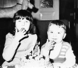 1977 with my sister Věrča