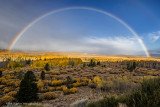 Rainbow over Conway Summit