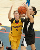 Queen's vs Carleton W-Basketball 03-01-14