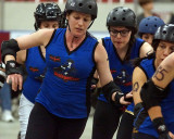 Roller Derby, Disloyalists vs Les Duchesses 05-10-14