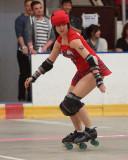 Roller Derby, Rogue Warriors vs Skateful Dead 05-10-14