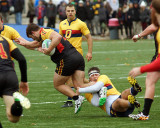 Queen's vs Guelph M-OUA Championship Rugby 11-08-14