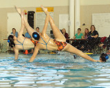 Queen's Synchronized Swimming 01-25-15