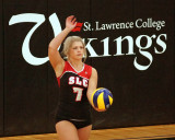 St Lawrence College vs Centennial W-Volleyball 01-30-15