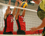 St Lawrence College vs Centennial M -Volleyball 01-30-15