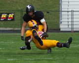 Queen's vs Carleton Football 08-30-15