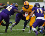Queen's vs Laurier Football 10-24-15