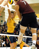 Queen's vs McMaster M-Volleyball 11-27-15