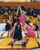 Queen's vs Lakehead W-Basketball 02-06-16