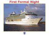 2013 - Mediterranean Cruise - First Formal Night - June 13
