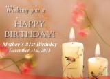 2013 - Mother's 81st Birthday - Album 2 - Ceremony