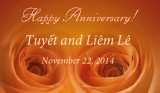 2014 - Tuyết and Liêm's 30th Anniversary
