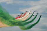 ITALIAN aerobatic team of the Air Force 50 years of history