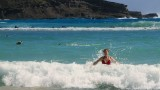Having fun in the surf 2