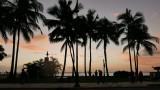 Final sunset at Waikiki