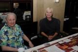 Virginia Herson & Michelle D'Elia at registration