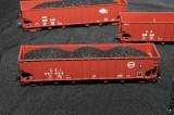 ExactRail Bethlehem 3737 Hopper with Heap Coal Load