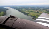 Lake Conesus under our wing