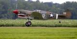 P-40 Takeoff