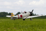 A T-6 made up to look like a Mitsubishi Zero