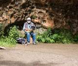 Busking at Gutmanala's Cave