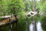 Fishing on the Tuolumne river South Fork