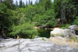 The Tuolumne river South Fork