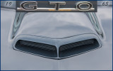 1965 GTO Hood Air Intake Scoop