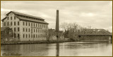 Seneca Falls Knitting Mill & Famous Bridge