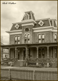 A Seneca Falls, N.Y. Victorian Estate Decorated For The Holidays