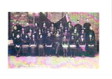 1920's Burton Citadel Songsters outside Brook Street Hall