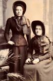 1900 c - Lieut Emily Hallett (nee Mortlock) @ Guisley area