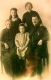 1922 - Major John & Frances Bourne @ farewell from Burton on Trent