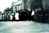 1908 July 11th Waiting on the arrival of General Booth @ Burton Workhouse
