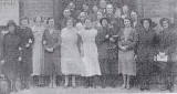 1933 December 7th - Stallholders & members of the Refreshment Committee