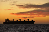 Tanker off the Coast of Morocco