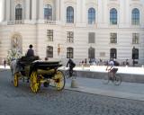 Buggy in Michaelerplatz