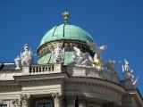 Architectural Detail Vienna's Michaelerplatz