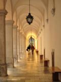 Melk Abbey Arcade