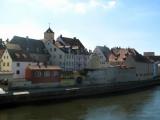 Regensburg River Embankment