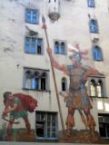 Goliathhaus Fresco of the Legend of David and Goliath