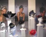 Hats Window Display