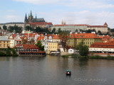 View of Prague Castle and Lesser Town