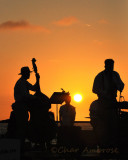 Musicians on the Pier