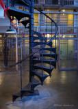 Spiral Staircase at Alcatraz